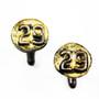 1929 Upcycled Cufflinks, Handmade Art Jewelry by Beborah Vivas