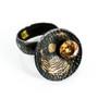 Cosmic Flare Ring, Handmade Art Jewelry by Deborah Vivas