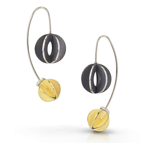 Jemlochs Earrings V2, Modern Jewelry by Samantha Freeman