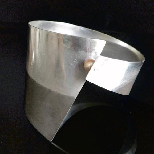 Collar Cuff Bracelet, Contemporary Jewelry by Maressa Tosto Merwarth