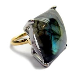 Handmade Jewelry, Labradorite Ring by Americo Izzo