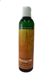 Cedar Orange Massage Oil  8 oz