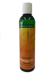 Warm Stone Massage Oil  8 oz