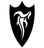 F-Shield Sticker (Black)