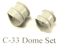 C-16 Fluted Dome Set