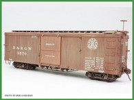 On3 D&RGW 3000 Series Box Car Kit