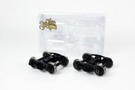 O Scale Bettendorf Trucks - Black