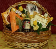 Wicker Wishes Gift Basket