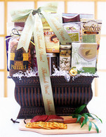 A Warm Thank You Gift Basket