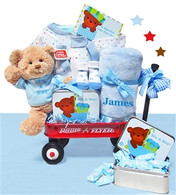 Personalized It's A Boy Radio Flyer Wagon