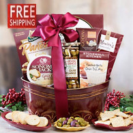 Shimmering Holiday Basket