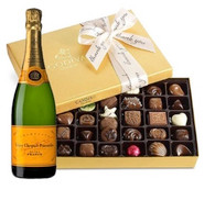 Veuve Clicquot & Godiva Thank you Chocolates