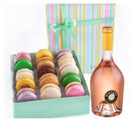 Château Miraval Rose W/Signature Macarons