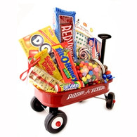 Red Wagon Candy Basket