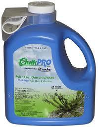 Roundup QuikPRO Weed Killer Herbicide Makes 70 gal