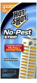 Hot Shot No Pest Strip Unscented Hanging Vapor Insect Repellent