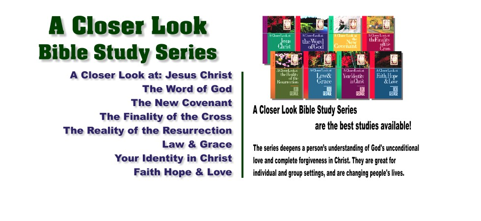 Bible Studies - A Closer Look