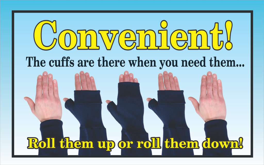 Cool Cuffs - Blank Colored Hoodies