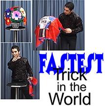 Fastest Trick in the World w/ DVD - Tora