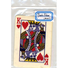 Flash Poker Card King of Hearts