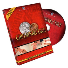 Captain and Coke (Gimmick Coins and DVD) by Blue Crown - DVD