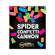 Spider Confetti Cannon by Tango