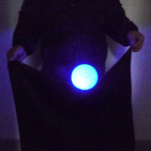 ELECTRIC GLOWING FLOATING ZOMBIE BALL