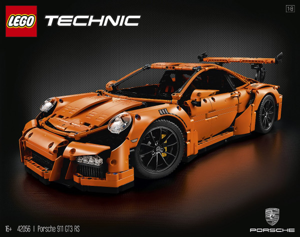 Porshce 911 GT3 RS LEGO Technic 42056 Finally Revealed!