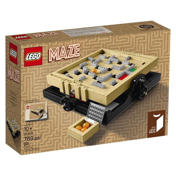 LEGO Ideas 21305 Maze launches April 1