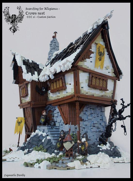 The crows nest by legonardo davidy for Crows nest house plans