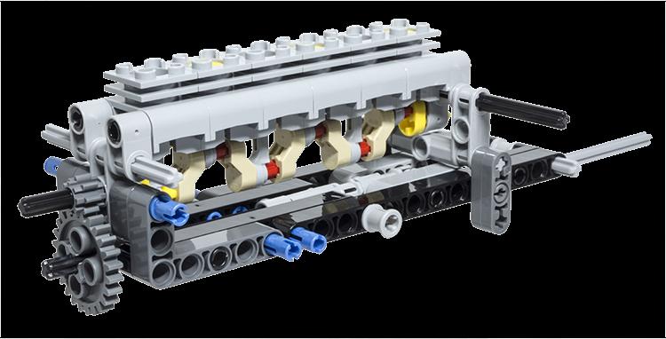 lego technic building tip internal combustion engine. Black Bedroom Furniture Sets. Home Design Ideas