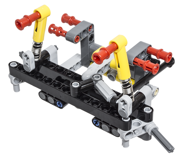 lego car lift instructions