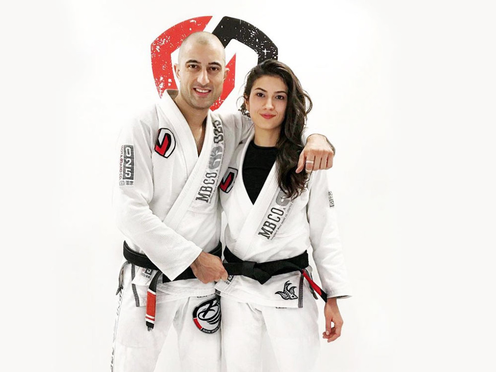 Asena Melike Brown belt - Corvos Combat Istanbul - Turkey 2016!!