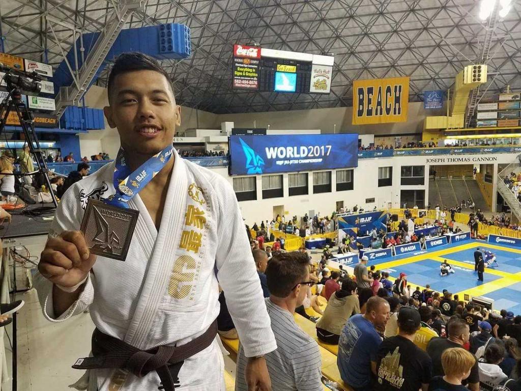 Rolando Samson (Atos HQ) Receives his Black Belt 2017!!