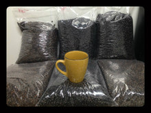 3 pound bulk box of FRENCH ROAST (Dark Roast) ultra premium coffee. GROUND COFFEE BEANS