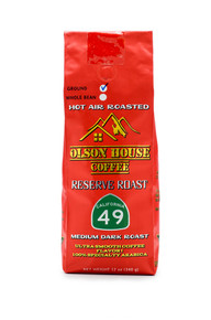 Olson House Coffee - Reserve Roast 49. 12OZ BAG WHOLE BEAN COFFEE