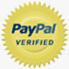 Verified Merchant by PayPal, Official PayPal Seal