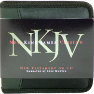 Front view - NKJV New Testament on CD, New Testament only NKJV Audio Bible on CD