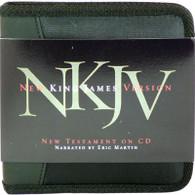 Front view - NKJV New Testament on CD, New Testament only NKJV Audio Bible on CD