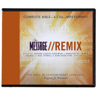 Front view - The Message Remix Audio Bible for MP3 & Android