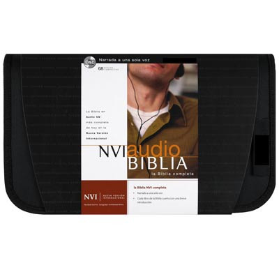 Front view - Santa Biblia en Audio CD, NVI Audio Biblia, la Bible audio