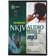 Front view - New King James Version Audio Bible for MP3 Players, Voice Only