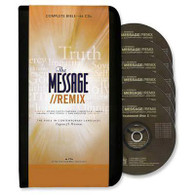 Front view - The Message Remix Audio Bible on CD