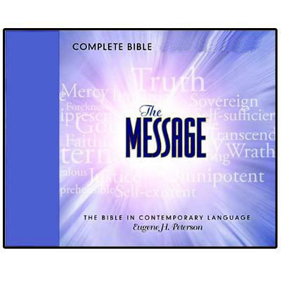 The Message Bible Download in audio for MP3 and iPod