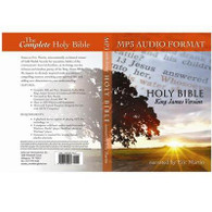 Front view - King James Audio Bible Download Narrated by Eric Martin