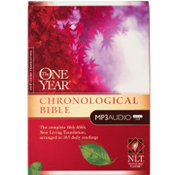 Front view - Chronological Bible in one year, NLT Audio Bible for MP3 & iPod