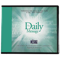 Front view - The Daily Message Bible for MP3, Through the Bible in one Year
