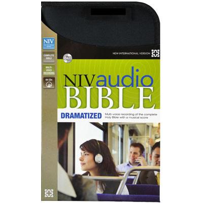 NIV Audio Bible 64 CDs.. Zondervan