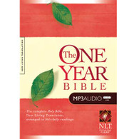 Front view - NLT One Year Audio Bible, NLT Audio Bible for MP3 players
