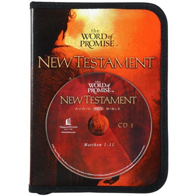 Front view - New King James Audio Bible on CD New Testament Word of Promise